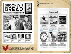 The Camano Coffee Mill featured in Brooklyn Bread