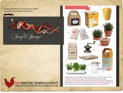 The Camano Coffee Mill featured on Design Sponge's 2011 gift guide.