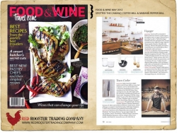 The Camano Coffee Mill & Mabana Pepper Mill spotted in Food & Wine