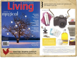 Camano Coffee Mill featured in Martha Stewart Living