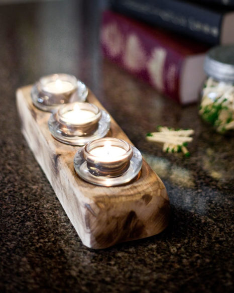 Upcycled Candleholder - 3straight