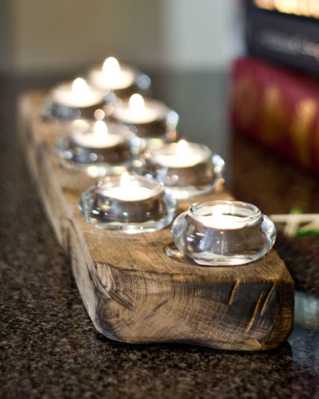 Upcycled Candleholder - 7staggered