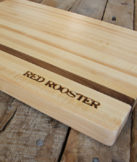 hand branded cutting board
