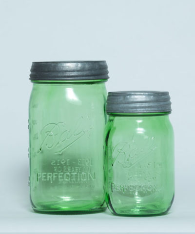 green-ball-jars