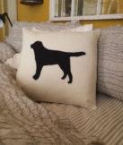 dog-needle-felted-pillow