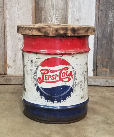 pepsi-barrel-end-table
