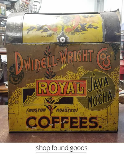 dwinell-wright coffee bin